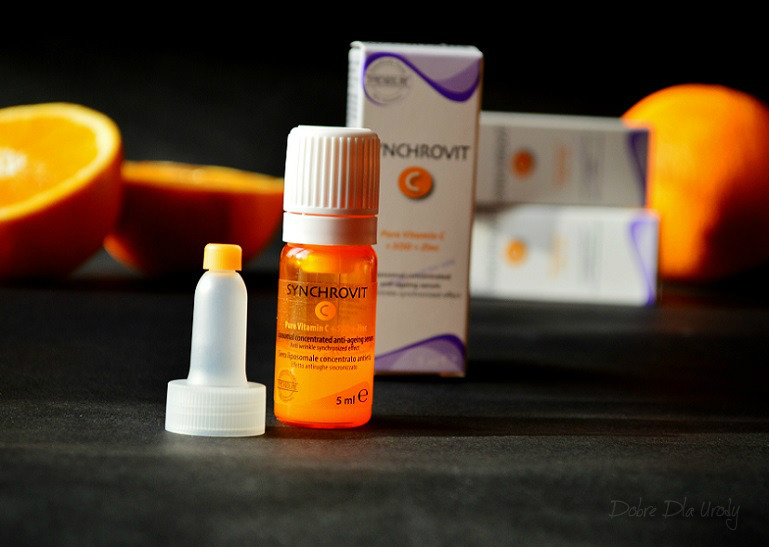 Synchrovit C skoncentrowane serum liposomowe z witaminą C