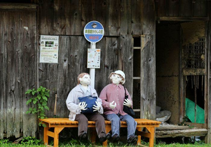 Scary Village in Japan: Scarecrows Illustrate Lives Of Japanese Countryside