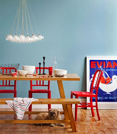 Kitchen Table Picnic Style: 10 Bellos Comedores Con Mesas De Picnic10