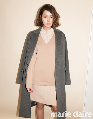 Lee Min Jung Marie Claire October 2015