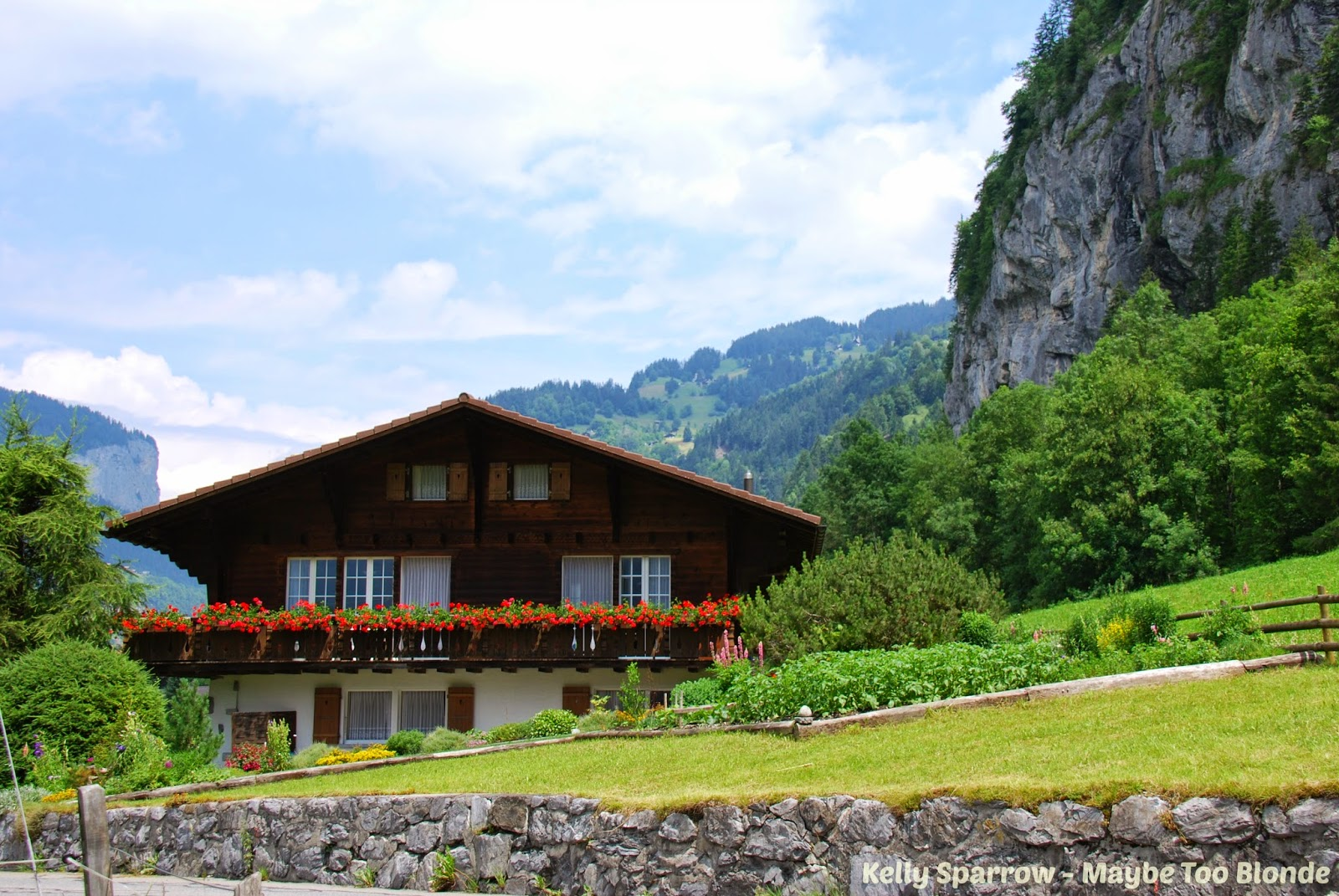 Swiss Chalet, Lauterbrunnen Switzerland