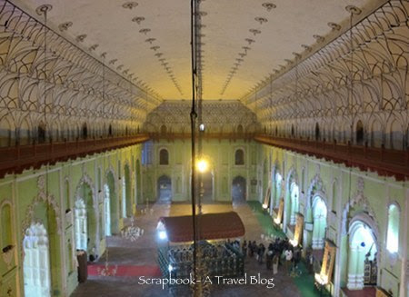 The main hall of Bara Imambra