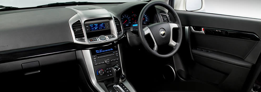 Chevrolet Captiva Interior Features | Chevrolet Indonesia