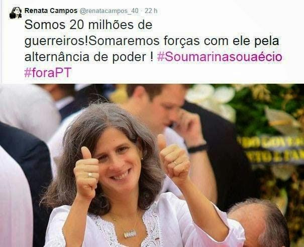 A FAMÍLIA CAMPOS APOIA AÉCIO!
