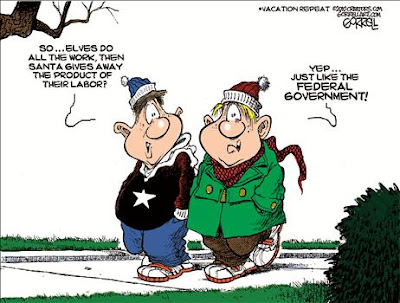 Federal Government and Santa Claus-What do They Have In Commom?  Theo3
