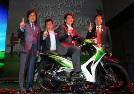 IndoGarage  New Honda Supra X 125 Helm In