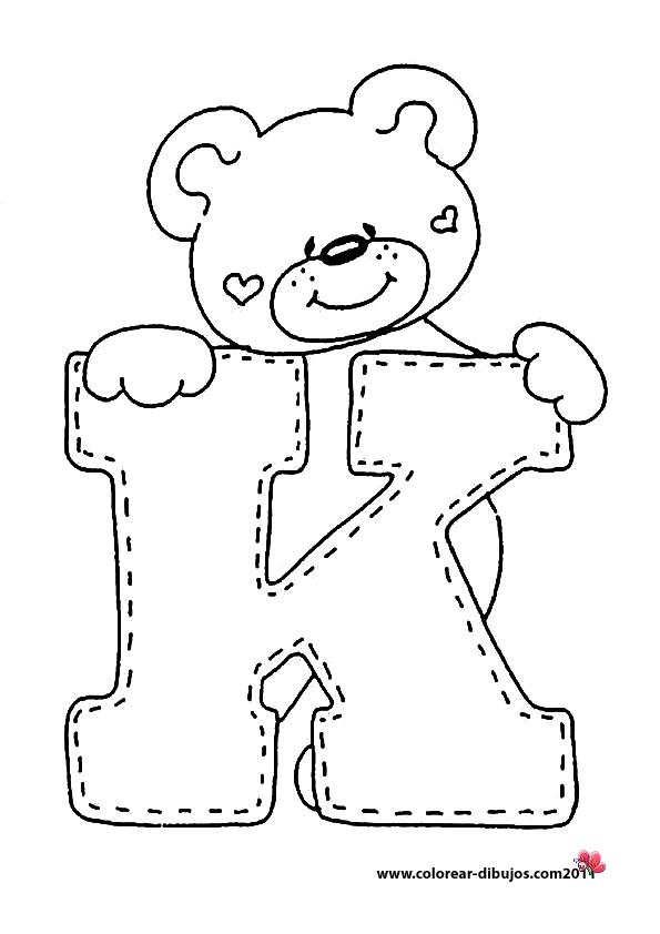 Dibujar letras imagui - Letras para dibujar ...