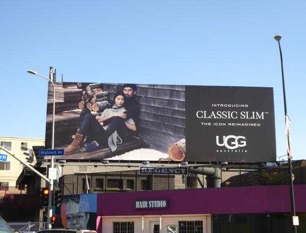 UGG boots Classic Slim billboard