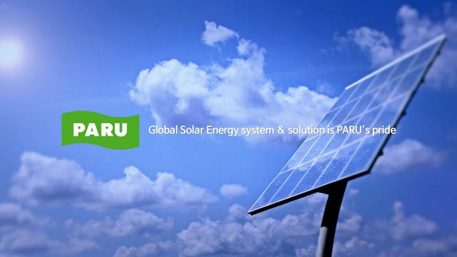 [PARU Solar Tracker] PARU 01