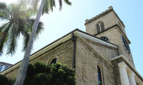 Kawaiahao Church honolulu hawaii