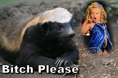 Honey Badger and Honey Boo Boo