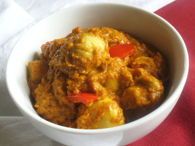 mushroom tikka curry