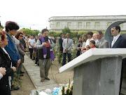 Dia de Recordacion especial de los caidos en Malvinas acto aã±os