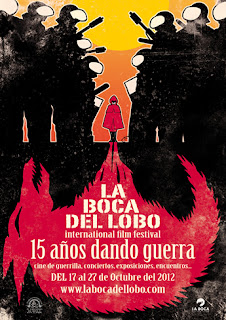 Cartel del Festival Internacional de Cortos `La Boca del Lobo'