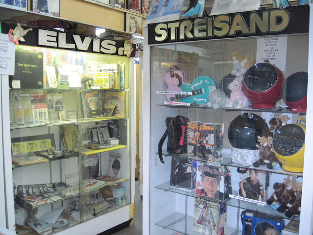This Old New York classic record store is great to look at but not touch some of the incredible memorabilia