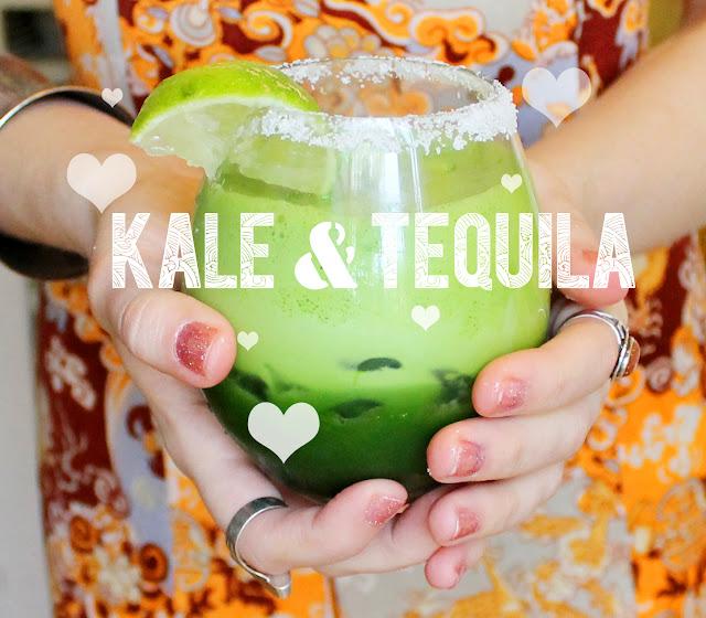 kale, tequila