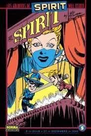 Los archivos de The Spirit 5,Will Eisner,Norma Editorial  tienda de comics en México distrito federal, venta de comics en México df