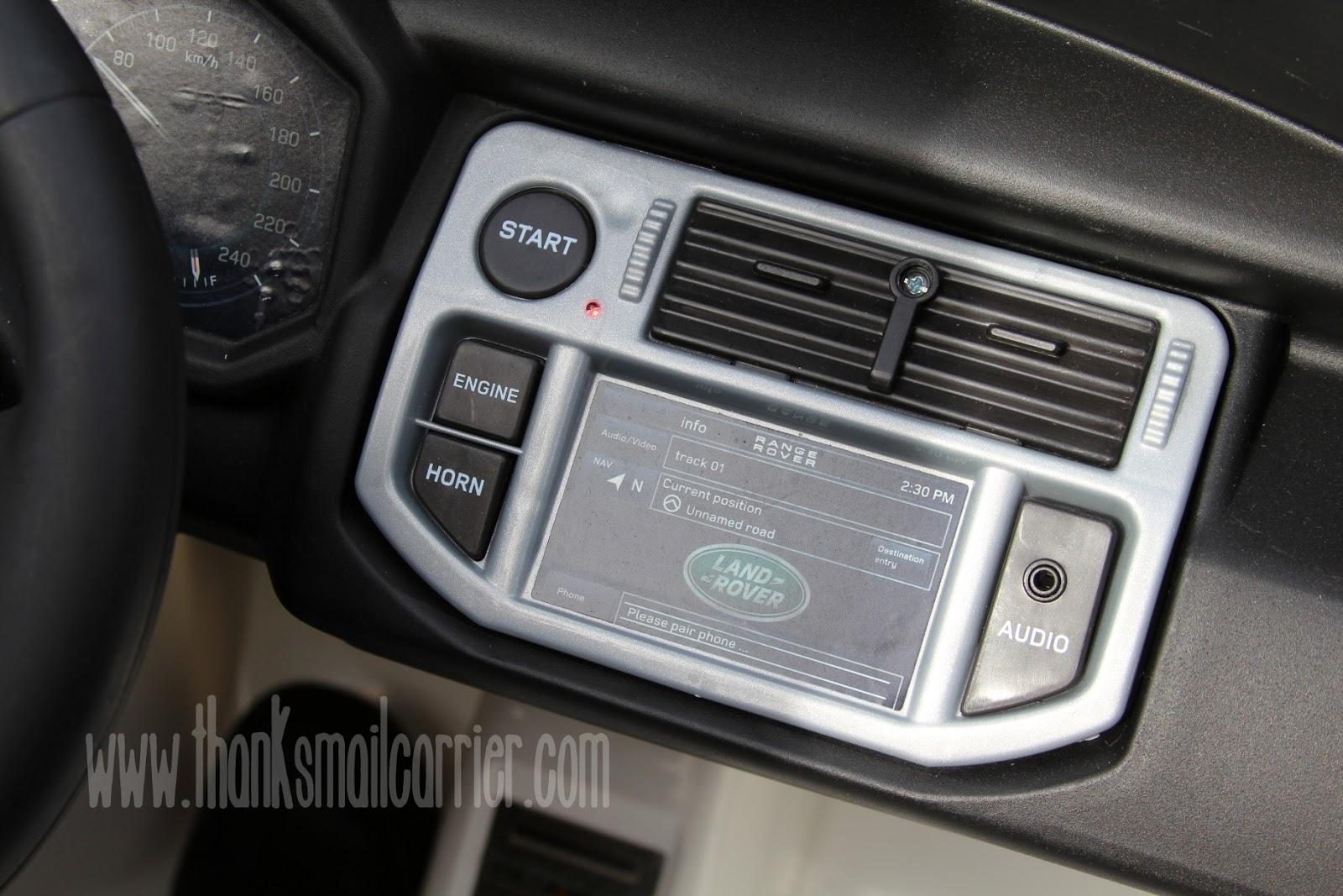 Avigo Range Rover audio
