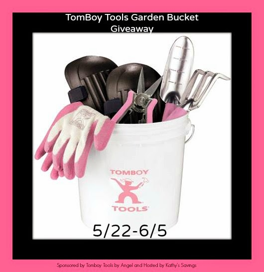 Tomboy Tools Garden Bucket Giveaway