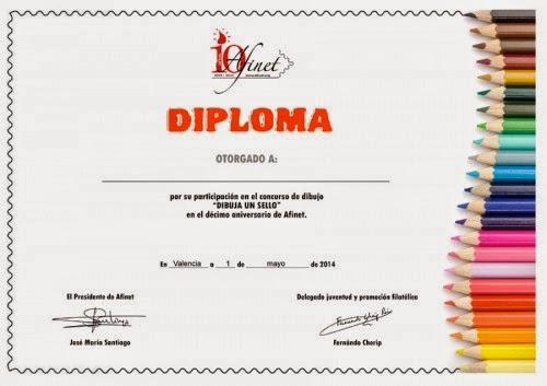 formato de los diplomas de participación diseño de mónica pan