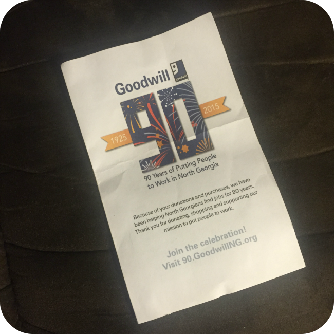 Make Donations to Goodwill of North Georgia