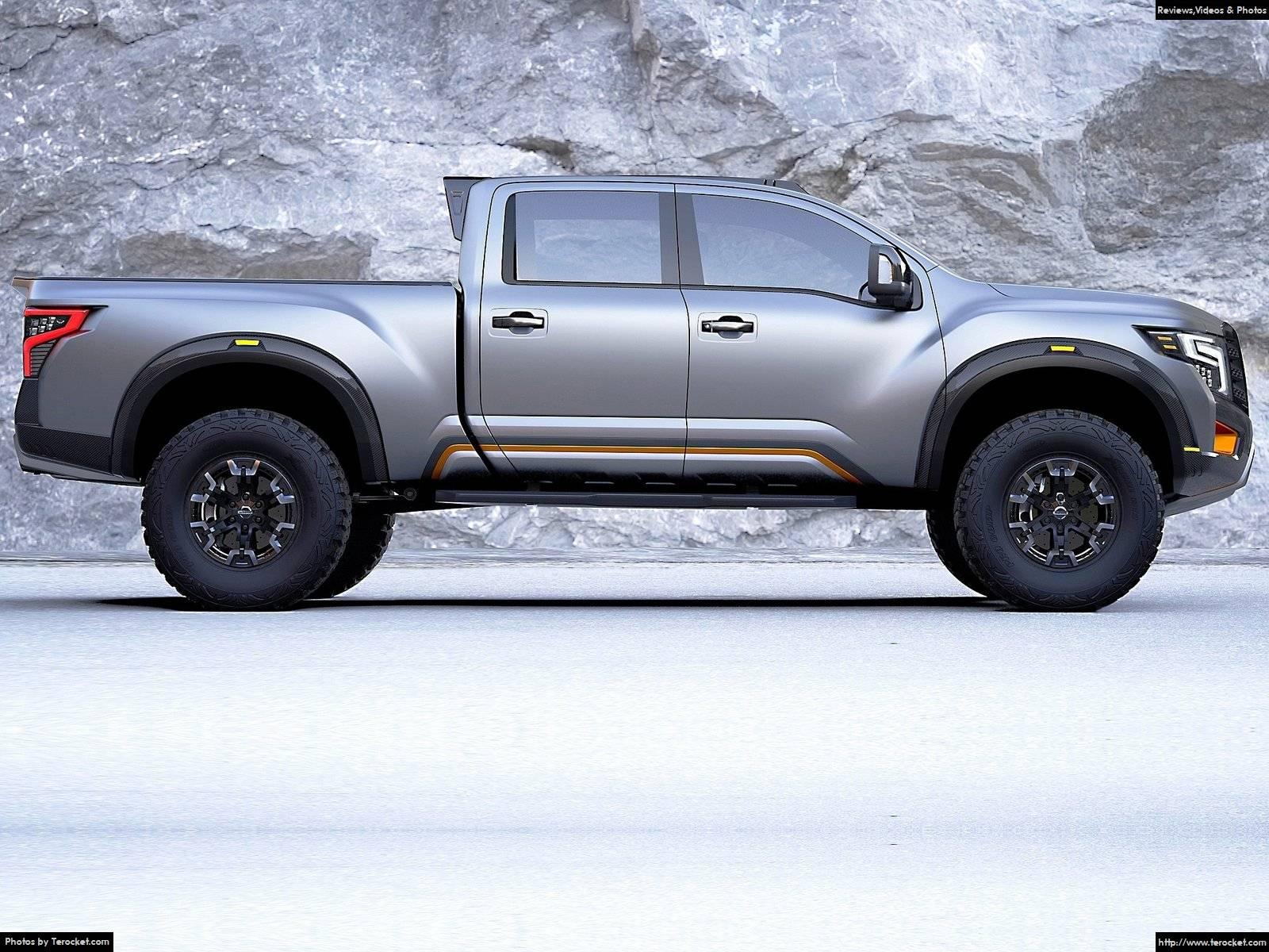 Hình ảnh xe ô tô Nissan Titan Warrior Concept 2016 & nội ngoại thất