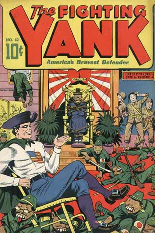 Los US Comics en la segunda guerra mundial