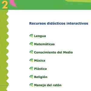 ED. ANAYA. Recursos didácticos interactivos. 2º