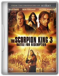 O Escorpião Rei 3   Batalha pela Redenção   BRRip AVI + RMVB Legendado