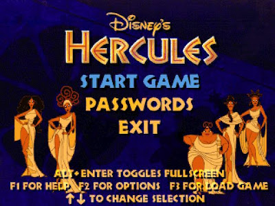 Disney Hercules Game Screenshot