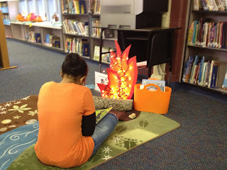 Campfire Story Center We Love It Library Learners