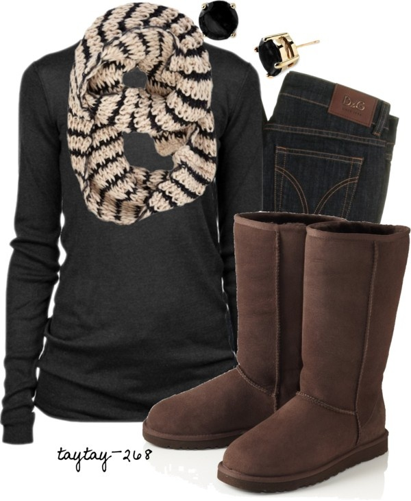Amazing warm fall outfit fashion trend