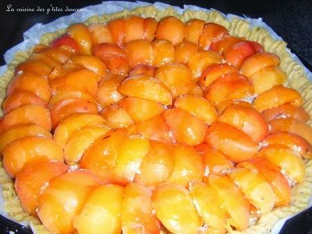 Comment faire un Tarte aux abricots et à la poudre d'amande