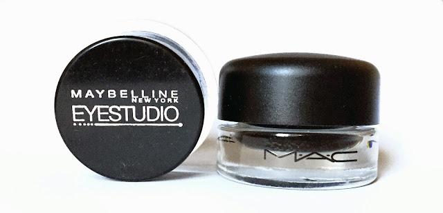 Maybelline Eye Studio Gel Eyeliner MAC Fluidline Review