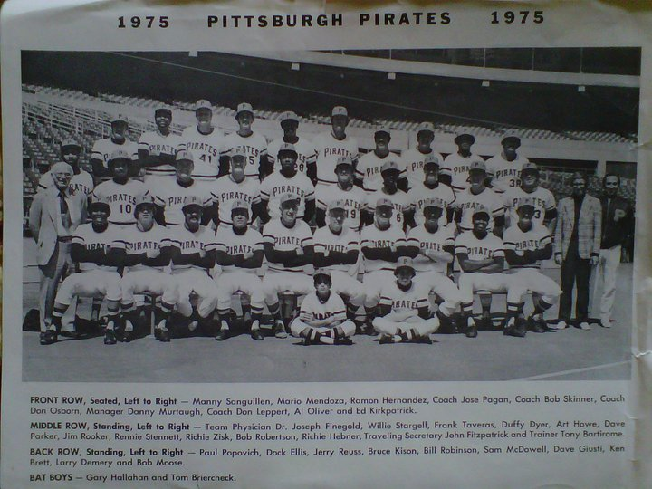Bob Moose & the 1975 Pirates