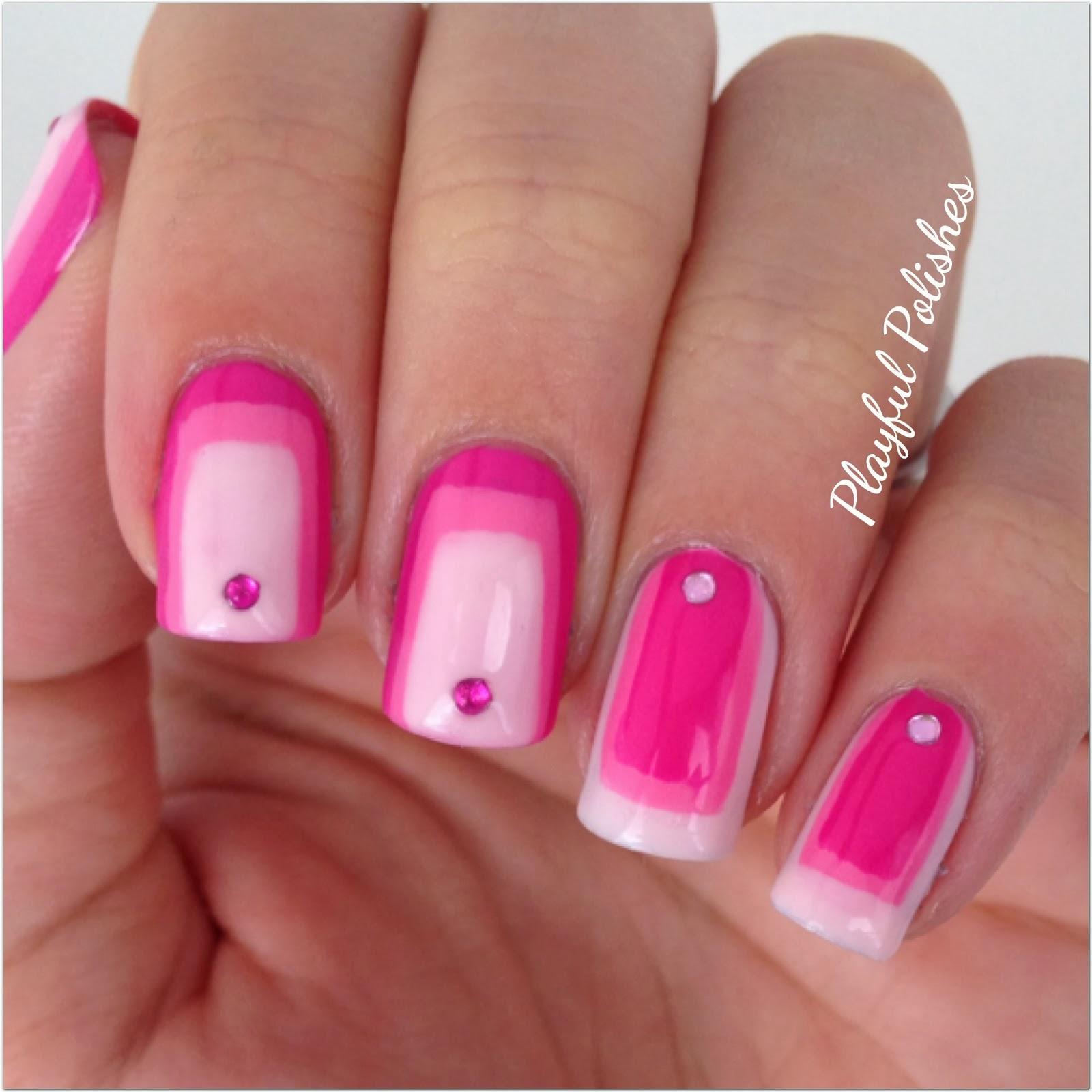 Gradient Nail Art: Playful Polishes: 31 DAY NAIL ART CHALLENGE: GRADIENT NAILS