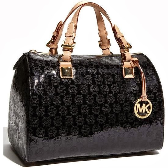 The Most Beautiful Black Michael Kors Handbag
