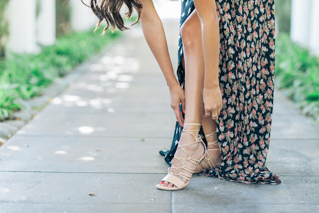 Life love and the pursuit of shoes that slit tho for Shoes for maxi dress wedding