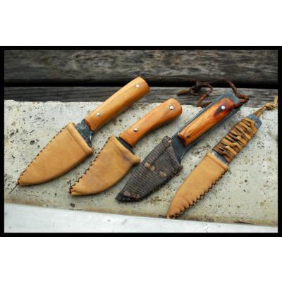 3kg sous terre diff rentes sortes d 39 tui pour couteaux - Teinter du cuir ...