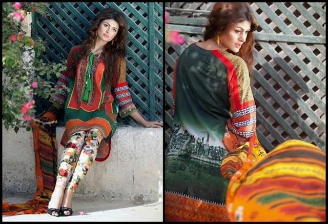 Envogue Fashion by Hamida Lawn 2014