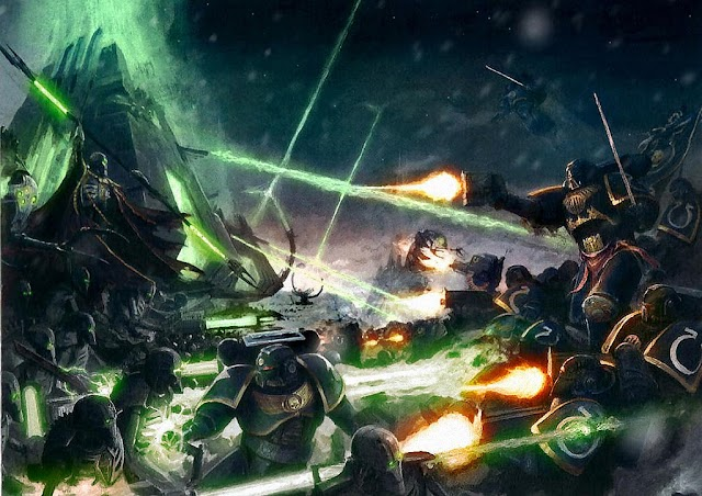 Space Marine Battles: Two New Books