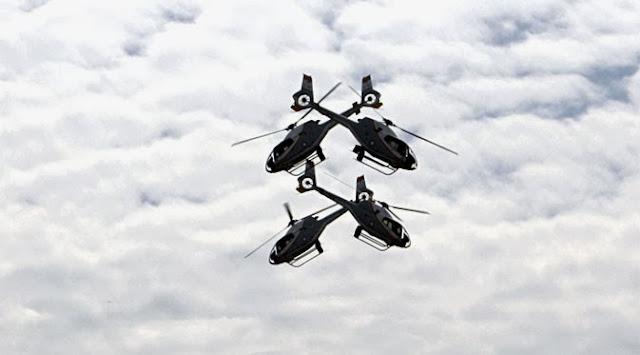Tim aerobatik Dynamic Pegasus unjuk kebolehan di Belitung