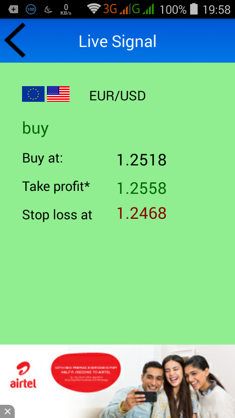 Forex live signals free
