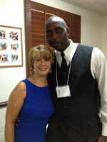 Zeke and Deborah at P2.0 International Summit - Brain Insights & Firstborn Son