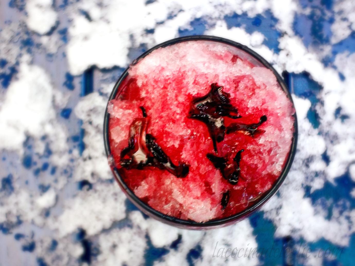 Almbar de jamaica hibiscus flower syrup for raspados she made almbar de jamaica hibiscus flower syrup for raspados she madeella hace izmirmasajfo Choice Image