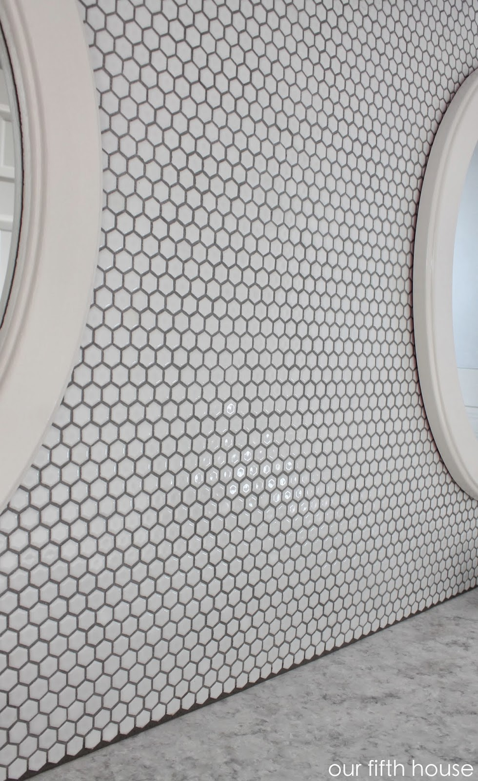 diy bathroom tile wall