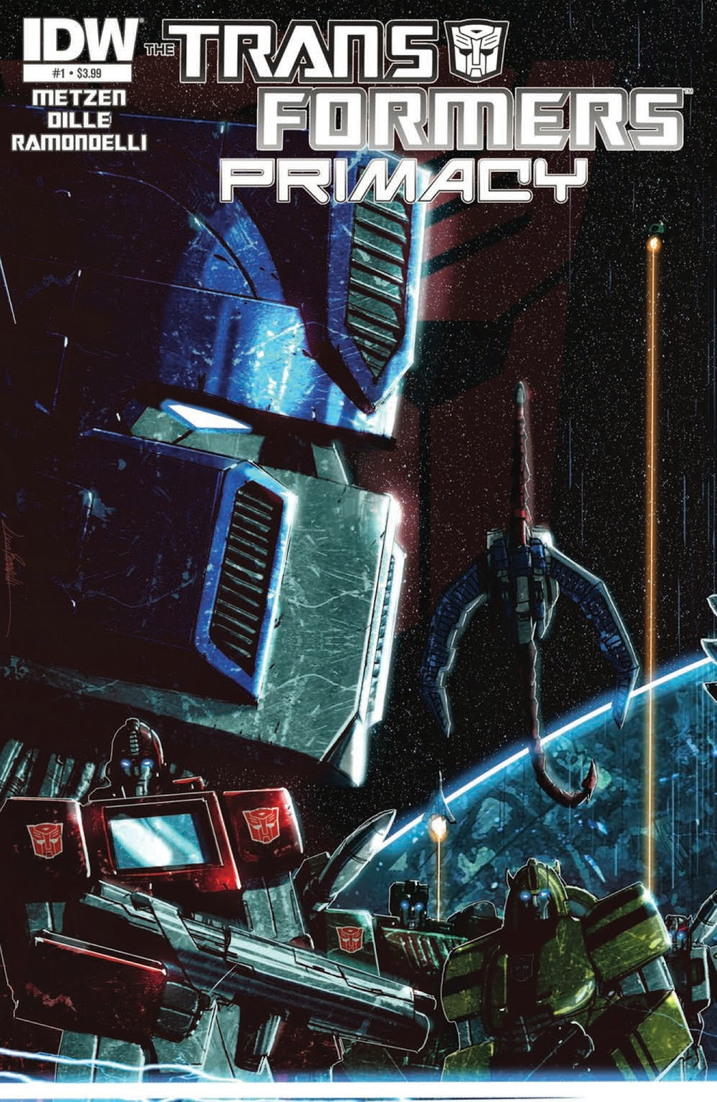 Review  Transformers Primacy #1