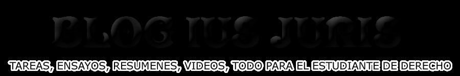 Blog de Derecho Ius Juris