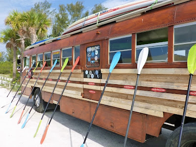 Surfer Bus at the Robinson Preserve beachhead, near Anna Maria Island, Florida.   The Saratoga Skier and Hiker, first-hand accounts of adventures in the Adirondacks and beyond, and Gore Mountain ski blog.