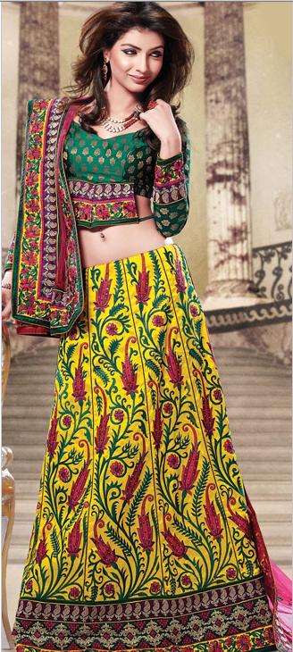 Bridal lehengas: On trend bridal styles | village chic